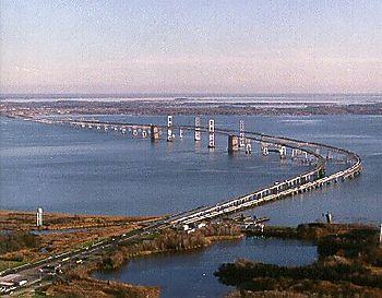 BaySwim bridges aerial