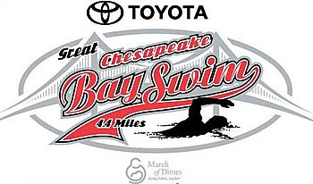 Chesapeake Bay Swim logo 2008
