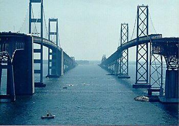 BaySwim between the bridges