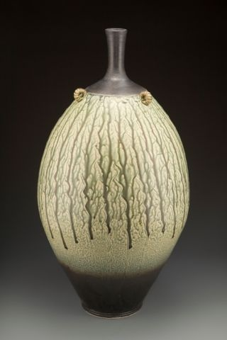 Clarkson - white stoneware pot