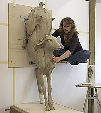 Beth Cavener - at work
