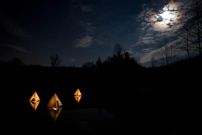 Evans Grant - Floating Lanterns