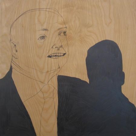 Brian Mallman - Meetings 5 24x24