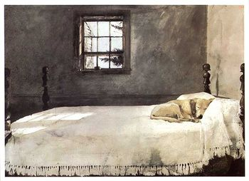 Andrew Wyeth masterbedroom