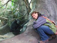Laura at Zoo 1